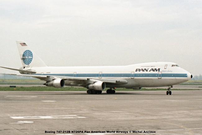 img096 Boeing 747-212B N726PA Pan American World Airways © Michel Anciaux
