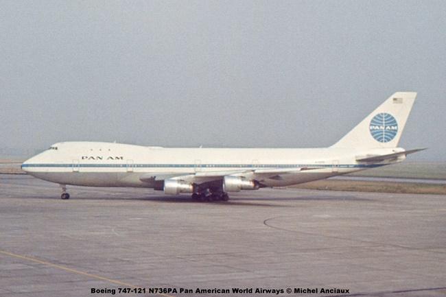 img1074 Boeing 747-121 N736PA Pan American World Airways © Michel Anciaux