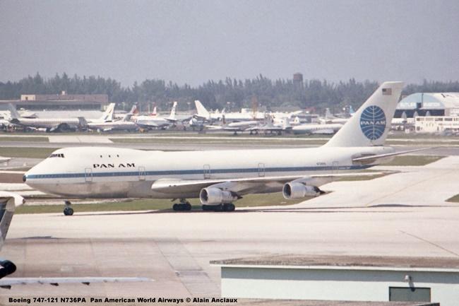 img785 Boeing 747-121 N736PA Pan American World Airways © Alain Anciaux