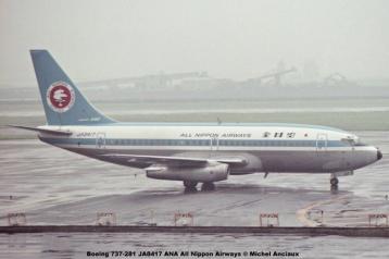 008 Boeing 737-281 JA8417 ANA All Nippon Airways © Michel Anciaux