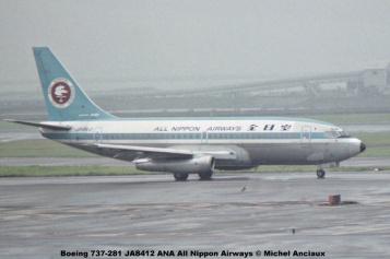 009 Boeing 737-281 JA8412 ANA All Nippon Airways © Michel Anciaux