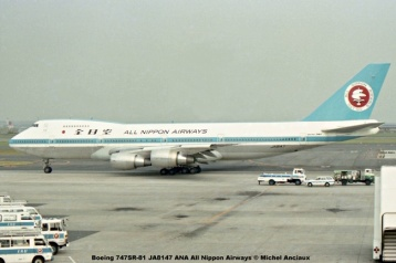 010 Boeing 747SR-81 JA8147 ANA All Nippon Airways © Michel Anciaux