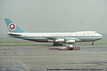 011 Boeing 747SR-81 JA8145 ANA All Nippon Airways © Michel Anciaux
