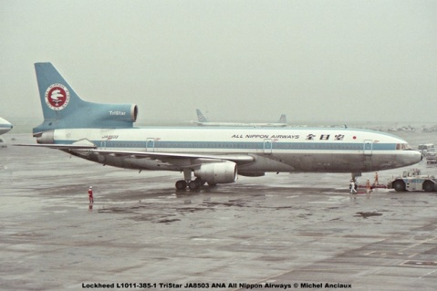 012 Lockheed L1011-385-1 TriStar JA8503 ANA All Nippon Airways © Michel Anciaux