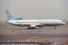 016 Lockheed L1011-1 JA8522 ANA All Nippon Airways © Michel Anciaux
