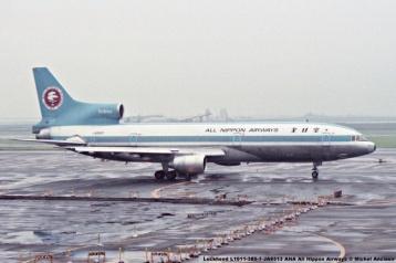 019 Lockheed L1011-385-1 JA8513 ANA All Nippon Airways © Michel Anciaux