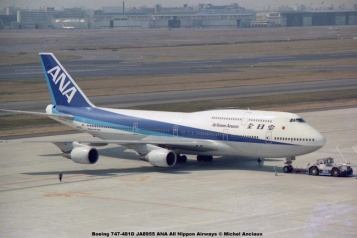 021 Boeing 747-481D JA8955 ANA All Nippon Airways © Michel Anciaux
