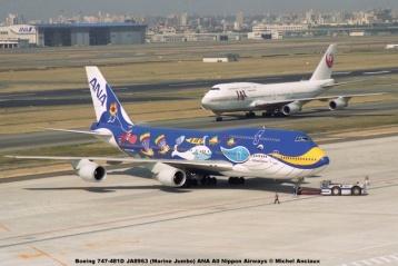 025 Boeing 747-481D JA8963 (Marine Jumbo) ANA All Nippon Airways © Michel Anciaux