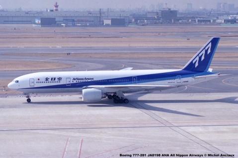 029 Boeing 777-281 JA8198 ANA All Nippon Airways © Michel Anciaux