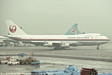 035 Boeing 747SR-46 JA8119 Japan Air Lines © Michel Anciaux