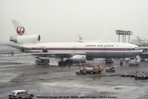 038 McDonnell Douglas DC-10-40 JA8530 Japan Air Lines © Michel Anciaux