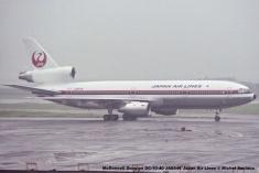 039 McDonnell Douglas DC-10-40 JA8546 Japan Air Lines © Michel Anciaux