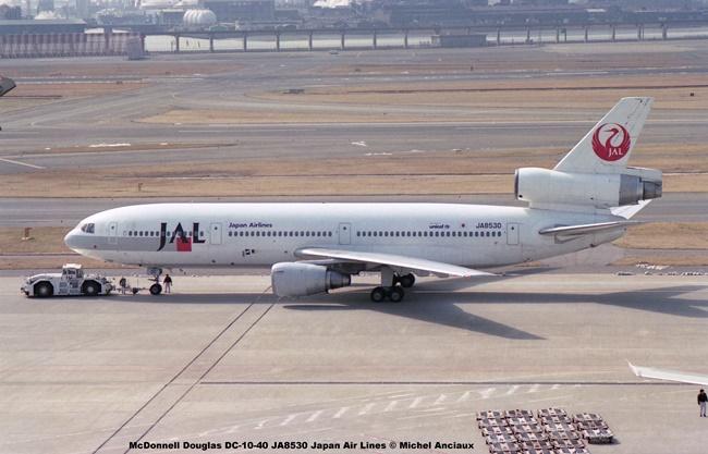 042 McDonnell Douglas DC-10-40 JA8530 Japan Air Lines © Michel Anciaux