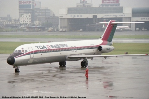 047 McDonnell Douglas DC-9-41 JA8426 TDA - Toa Domestic Airlines © Michel Anciaux