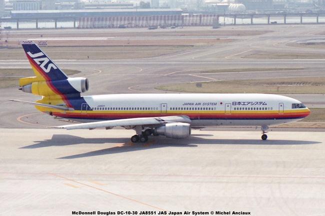 054 McDonnell Douglas DC-10-30 JA8551 JAS Japan Air System © Michel Anciaux