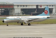 055 NAMC YS-11A-213 JA8727 NKA Nihon Kinkyori Airways © Michel Anciaux