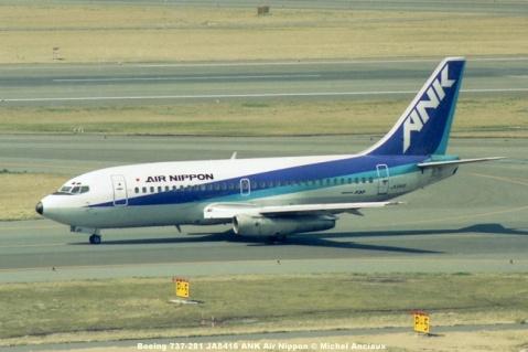 056 Boeing 737-281 JA8416 ANK Air Nippon © Michel Anciaux