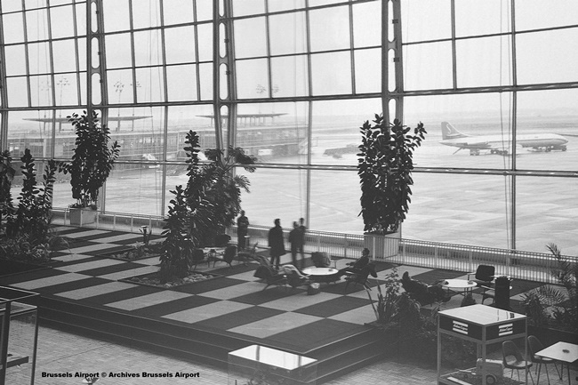 7 Brussels Airport © Archives Brussels Airport