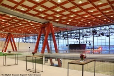 DSC_3025 The Skyhall Brussels Airport © Hubert Creutzer