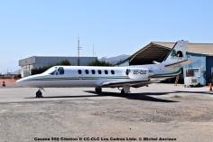 DSC_0009 Cessna 550 Citation II CC-CLC Los Cedros Ltda. © Michel Anciaux