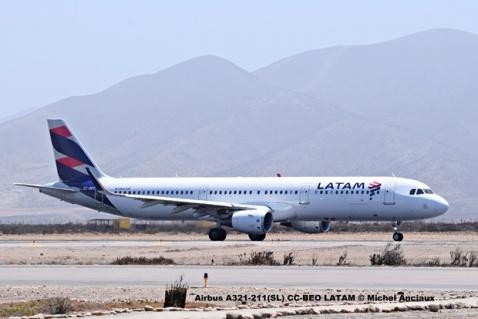 DSC_0010 Airbus A321-211(SL) CC-BEO LATAM © Michel Anciaux