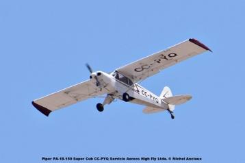 DSC_0014 Piper PA-18-150 Super Cub CC-PYQ Servicio Aereos High Fly Ltda. © Michel Anciaux