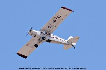 DSC_0021 Piper PA-18-150 Super Cub CC-PYQ Servicio Aereos High Fly Ltda. © Michel Anciaux