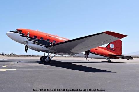 DSC_0024 Basler BT-67 Turbo 67 C-GKKB Kenn Borek Air Ltd © Michel Anciaux