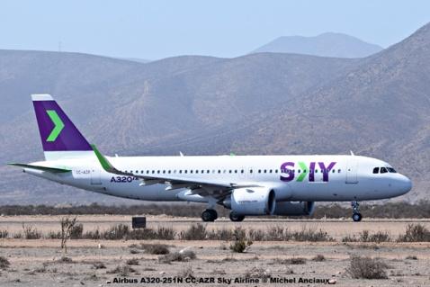DSC_0034 Airbus A320-251N CC-AZR Sky Airline © Michel Anciaux
