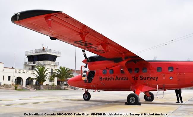 DSC_0042 De Havilland Canada DHC-6-300 Twin Otter VP-FBB British Antarctic Survey © Michel Anciaux
