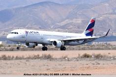 DSC_0055 Airbus A321-211(SL) CC-BER LATAM © Michel Anciaux