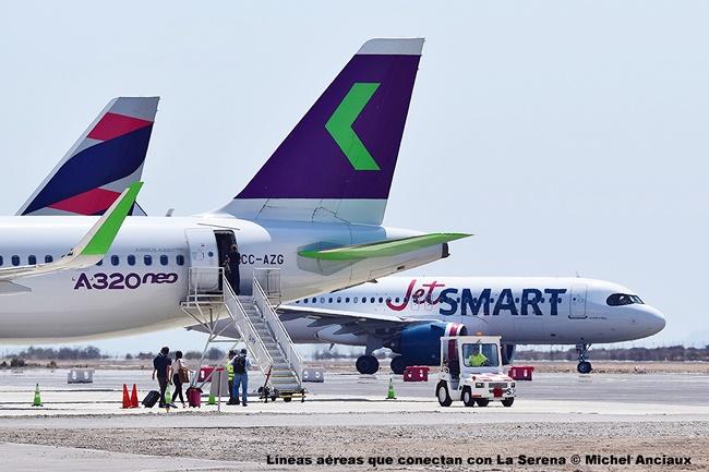 DSC_0081 Líneas aéreas que conectan con La Serena © Michel Anciaux
