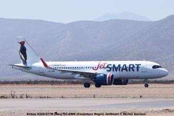 DSC_009 Airbus A320-271N (Neo) CC-AWN (Carpintero Negro) JetSmart © Michel Anciaux