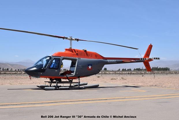 DSC_0132 Bell 206 Jet Ranger III ''30'' Armada de Chile © Michel Anciaux