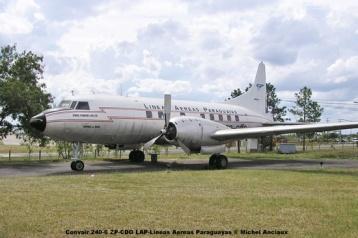 001 Convair 240-6 ZP-CDO LAP-Lineas Aereas Paraguayas © Michel Anciaux