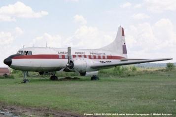 003 Convair 240-6 ZP-CDO LAP-Lineas Aereas Paraguayas © Michel Anciaux