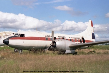 005 Convair 240-6 ZP-CDO LAP-Lineas Aereas Paraguayas © Michel Anciaux