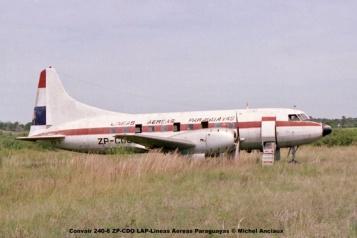 006 Convair 240-6 ZP-CDO LAP-Lineas Aereas Paraguayas © Michel Anciaux