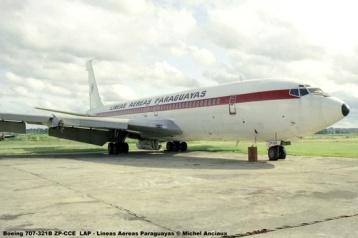 01 Boeing 707-321B ZP-CCE LAP - Lineas Aereas Paraguayas © Michel Anciaux