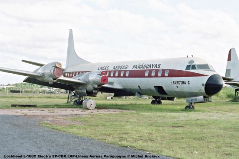 01 Lockheed L-188C Electra ZP-CBX LAP-Lineas Aereas Paraguayas © Michel Anciaux