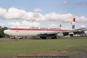 02 Boeing 707-321B ZP-CCE LAP - Lineas Aereas Paraguayas © Michel Anciaux