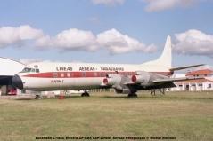 02 Lockheed L-188AC Electra ZP-CBX LAP-Lineas Aereas Paraguayas © Michel Anciaux