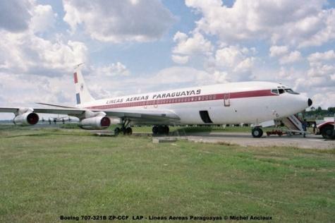 03 Boeing 707-321B ZP-CCF LAP - Lineas Aereas Paraguayas © Michel Anciaux