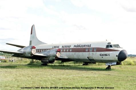 04 Lockheed L-188C Electra ZP-CBY LAP-Lineas Aereas Paraguayas © Michel Anciaux