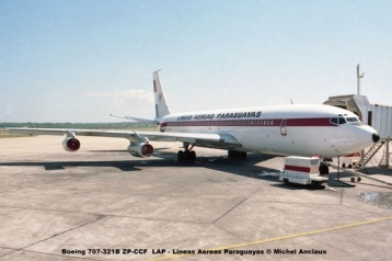 06 Boeing 707-321B ZP-CCF LAP - Lineas Aereas Paraguayas © Michel Anciaux