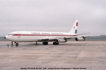 07 Boeing 707-321B ZP-CCF LAP - Lineas Aereas Paraguayas © Michel Anciaux