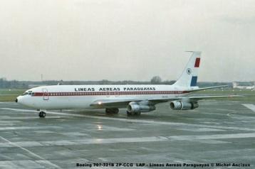 08 Boeing 707-321B ZP-CCG LAP - Lineas Aereas Paraguayas © Michel Anciaux