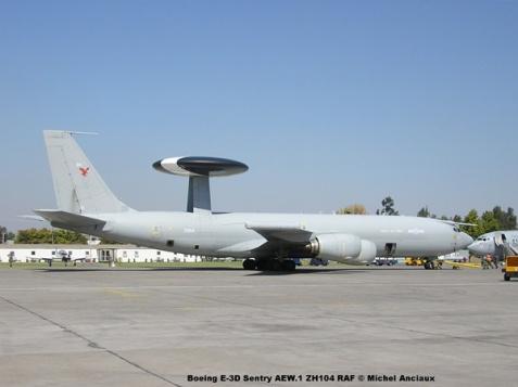 090 Boeing E-3D Sentry AEW.1 ZH104 RAF © Michel Anciaux