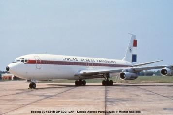 10 Boeing 707-321B ZP-CCG LAP - Lineas Aereas Paraguayas © Michel Anciaux