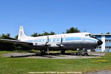 1000 Vickers Viscount 724 F-BMCF Air Inter © Michel Anciaux